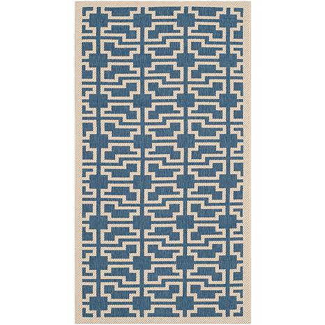 "Safavieh Courtyard Skye 2'-7"" x 5' Indoor/Outdoor Rug"