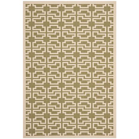 "Safavieh Courtyard Skye 6'-7"" x 9'-6"" Indoor/Outdoor Rug"