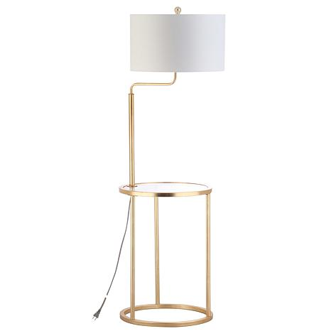 "Safavieh Crispin 57"" Floor Lamp Side Table"