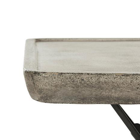 safavieh delartin modern concrete coffee table - 8496307 | hsn