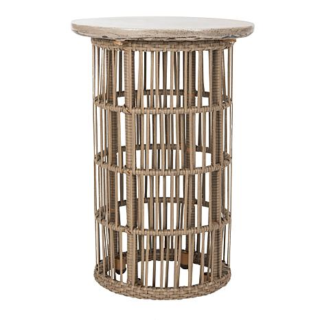 Safavieh Fane Modern Concrete Side Table