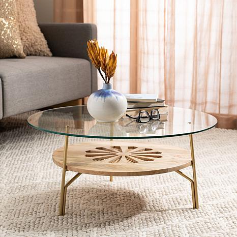 Safavieh Flora Round Coffee Table