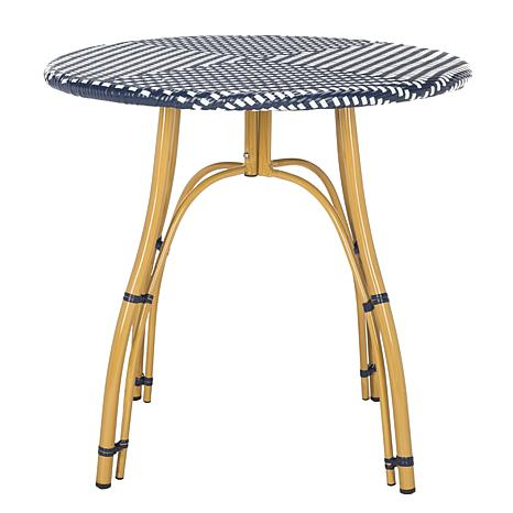 Safavieh Kylie Rattan Bistro Table