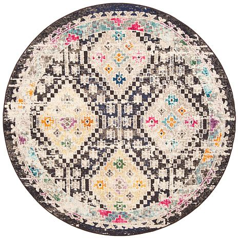 "Safavieh Madison Angelou 6'-7"" x 6'-7"" Round Rug"