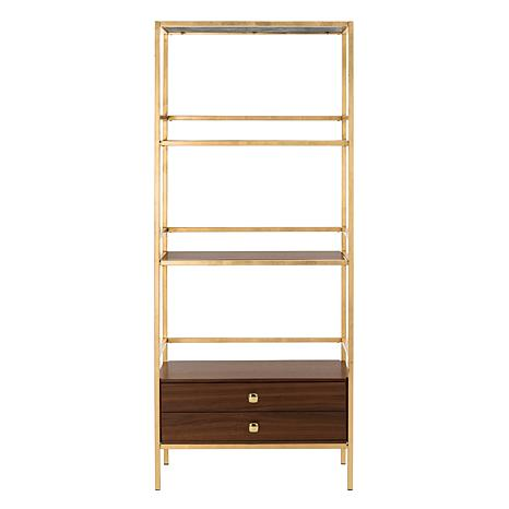 Safavieh Mateo 4-Tier 1-Drawer Etagere