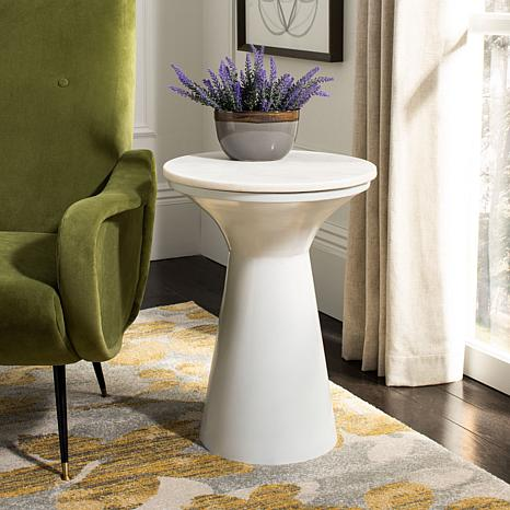 Safavieh Mila Pedestal End Table
