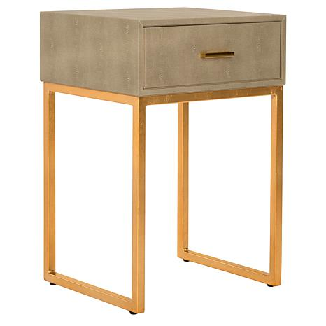 Safavieh Mori Shagreen Modern Side Table   8464150 | HSN