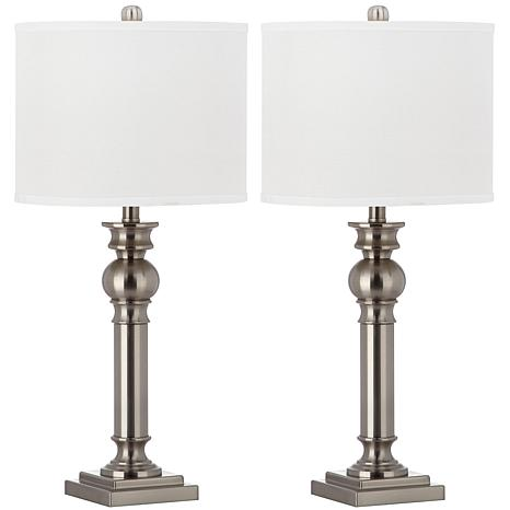 Safavieh Set of 2 Argos Column Table Lamps