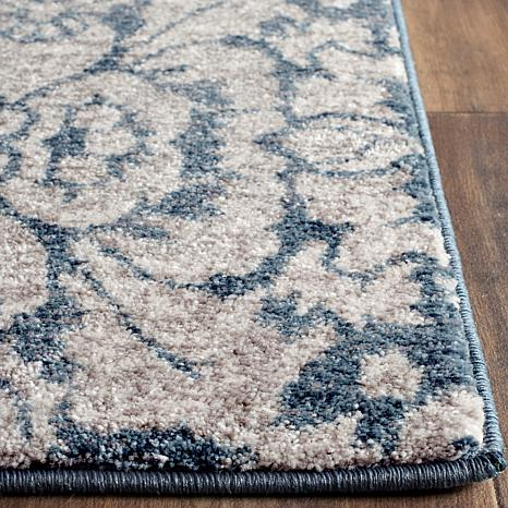 Beige And Blue Rug Home Decor