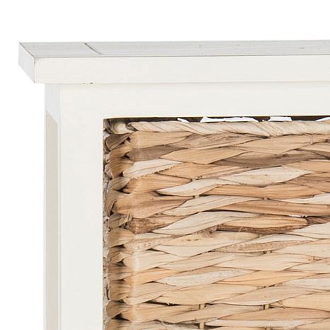 Safavieh Vedette 5 Wicker Basket Storage Chest   8328112 | HSN