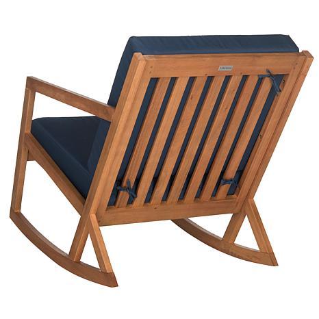 Safavieh Vernon Rocking Chair Eucalyptus Wood 8472591