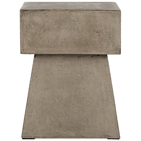 Safavieh Zen Mushroom Concrete Accent Table - Gray