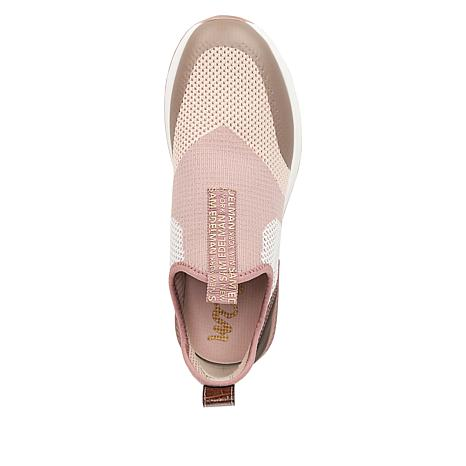 d1afa5b36 Sam Edelman Dania Fabric and Faux Leather Slip-On Sneaker - 8885911 ...