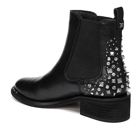 bea48f1aa326 Sam Edelman Leather Dover Bootie with Studs - 8803516