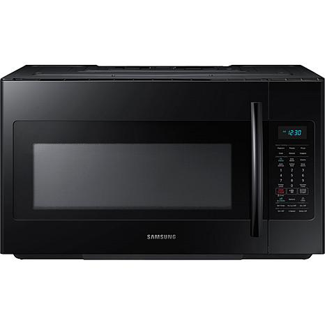 Samsung 1.8 Cu. Ft. Over-the-Range Microwave - Black