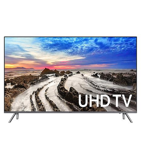 "Samsung 55"" MU8000 4K Flat Ultra HD Smart TV with 2-Year Warranty"