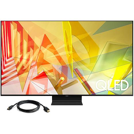 "Samsung 55"" Q90T QLED 4K UHD HDR Smart TV (2020) with HMDI Cable"