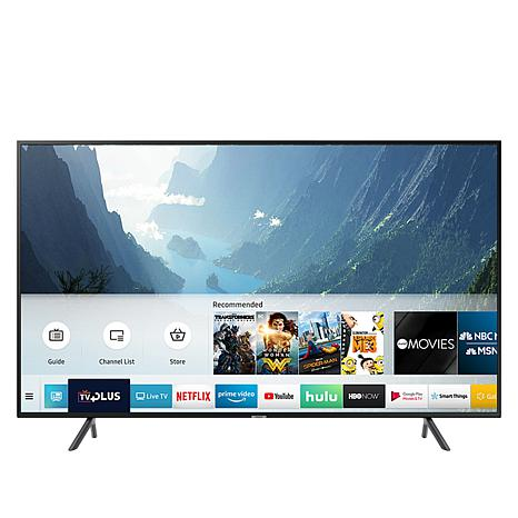 """Samsung NU7100 65"""" 4K UHD Smart TV with HDMI Cable and 2-Year Warranty"""