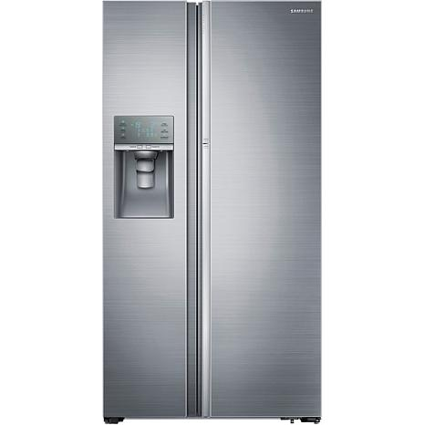 Samsung Refrigerator with ShowCase Fridge Door  sc 1 st  HSN.com & 29 Cu. Ft. Side-by-Side Refrigerator with ShowCase Door - Stainless ...