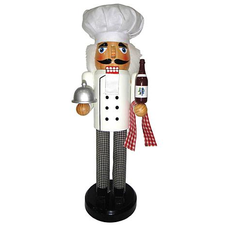 Santa's Workshop 14' Chef Nutcracker Figurine