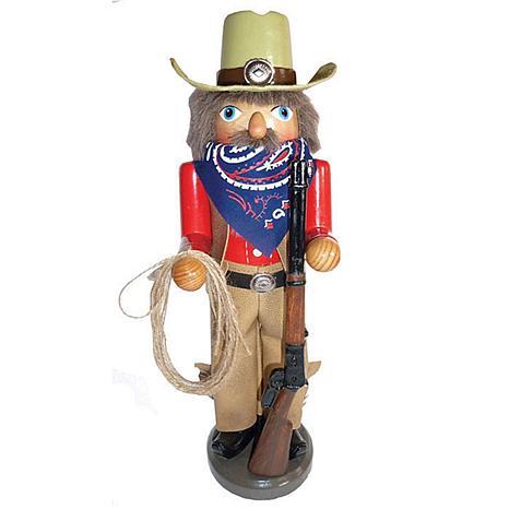 Santa's Workshop 14.5' Home on the Range Nutcracker Figurine