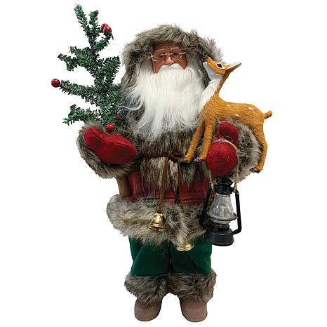"Santa's Workshop 15"" Helping a Friend Claus"
