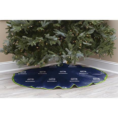 Seahawks Christmas Tree.New Seattle Seahawks Christmas Tree Skirt