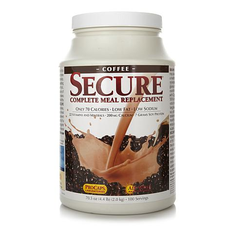 Secure Meal Replacement - 100 Meals