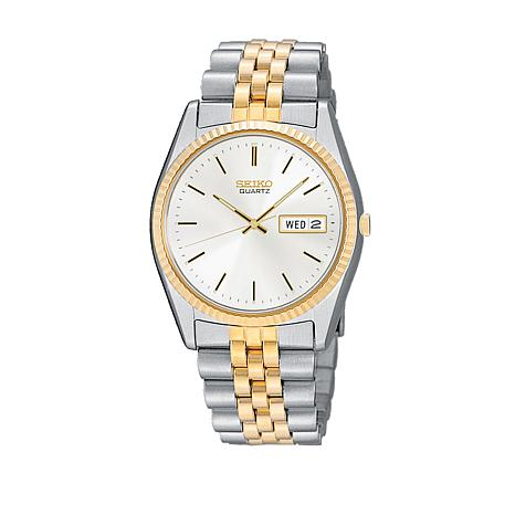 Seiko Men's Two-Tone Stainless Steel Bracelet Watch
