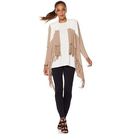 Serena Williams Fringe Cardigan