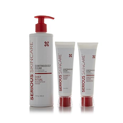 Serious Skincare Continuously Clear Adult Trio AS