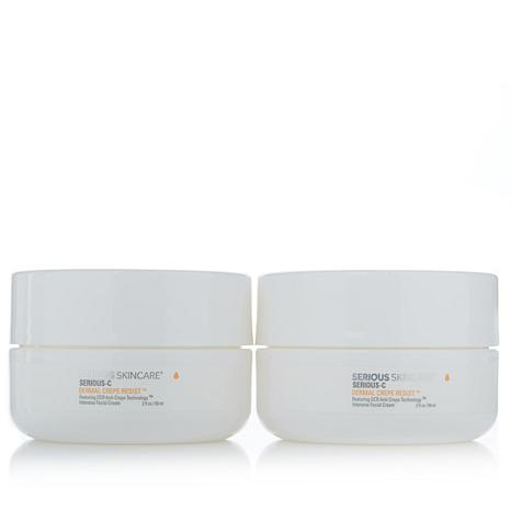 Serious Skincare DERMAL CREPE RESIST® Face Twin Pack