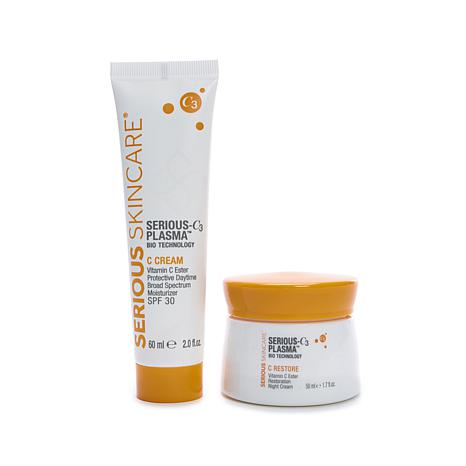 Serious Skincare SERIOUS-C3 AM/PM C Cream Duo