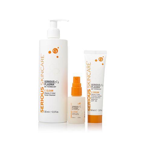 Serious Skincare SERIOUS-C3 PLASMA™ 3-piece Routine