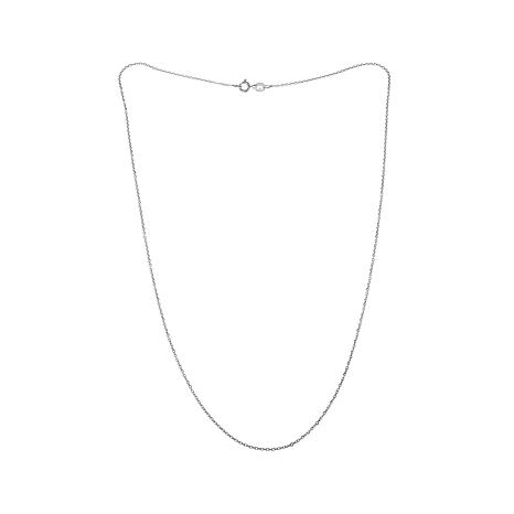 "Sevilla Silver™ 1.1mm Cable Chain 20"" Necklace"