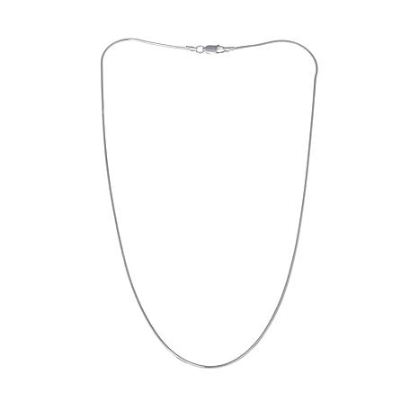 "Sevilla Silver™ 1.2mm Octagon Snake Chain 16"" Necklace"