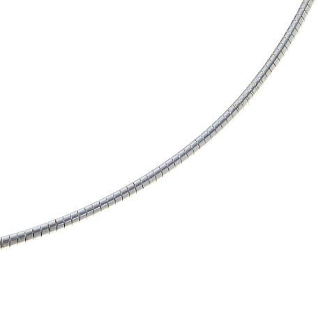 "Sevilla Silver™ 18"" 2mm Round Omega Chain"
