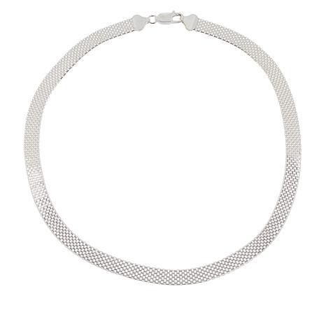 "Sevilla Silver™ 18"" Bismark Chain Necklace"