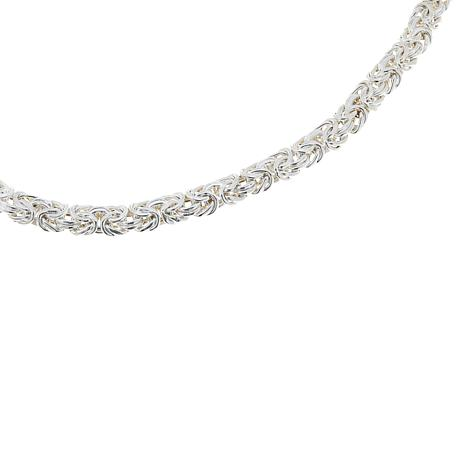 "Sevilla Silver™ 18"" Byzantine Necklace"