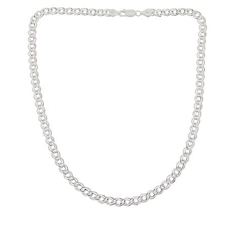 """Sevilla Silver™ 18"""" Double Interlocking Link Chain"""