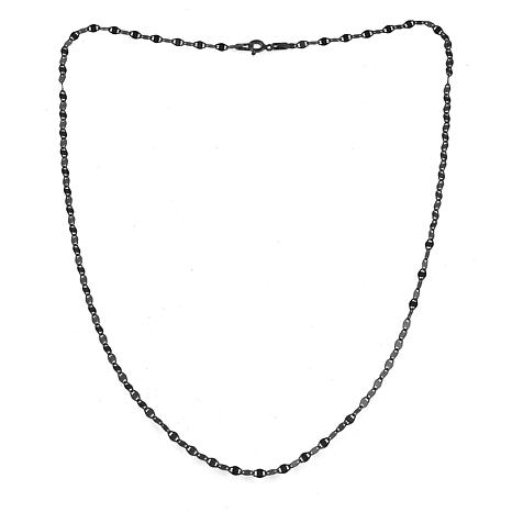 """Sevilla Silver™ 24"""" Gold-Plated Sparkle Chain Necklace"""