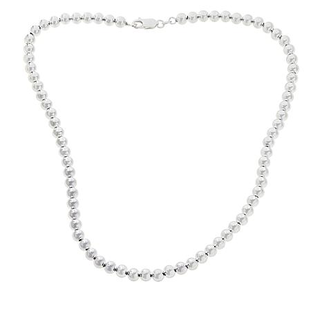Sevilla Silver™ 6mm Polished Bead Necklace