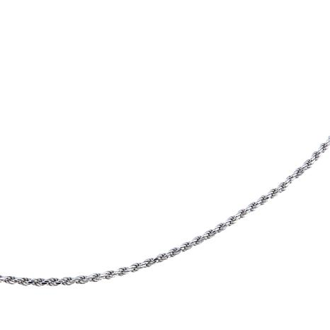 "Sevilla Silver™ Adjustable 1.1mm 30"" Rope Chain"