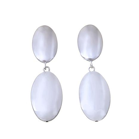 Sevilla Silver™ Double Oval Drop Earrings