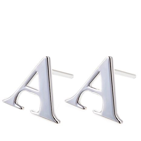 Sevilla Silver™ Initial Stud Earrings