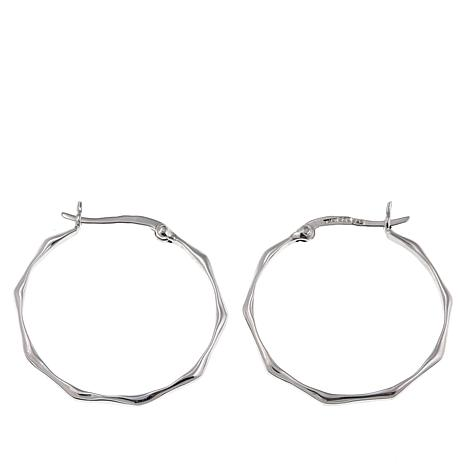 Sevilla Silver™ Small Octagon Hoop Earrings