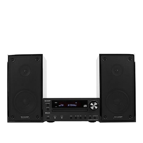 Sharp Micro Stereo Shelf System with Radio, CD and Bluetooth