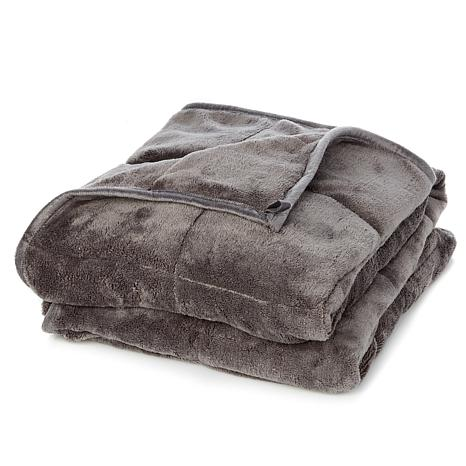 Sharper Image Calming Comfort 25 Lb Weighted Blanket 8793843 Hsn