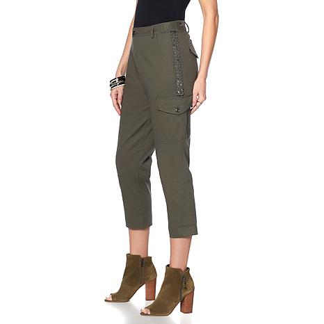 Sheryl Crow Beaded Girlfriend Cargo Pant