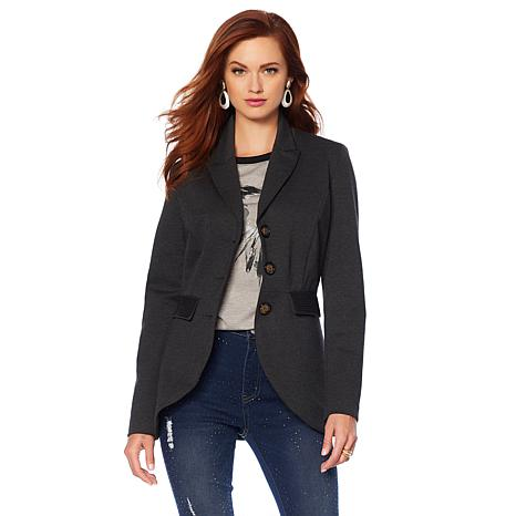 Sheryl Crow Riding Jacket with Elbow Patches